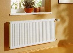 Стальные радиаторы отопления и их особенности.