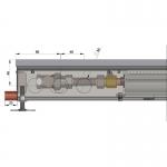 Внутрипольный конвектор Minib Coil для бассейнов с вентилятором