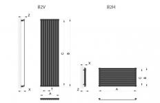 Дизайн радиатор Betatherm Blende
