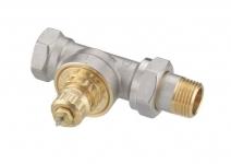 Клапан для терморегулятора в однотрубной системе прямой, Danfoss