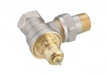 Клапан терморегулятора для однотрубной системы, угловой, Danfoss