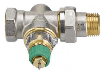 Динамичный клапан терморегулятора, прямой, Danfoss