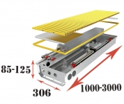 Кировоградский конвектор с вентилятором постоянного тока DC
