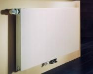 Стальной радиатор Purmo Plan compact, нижнее подключение по центру