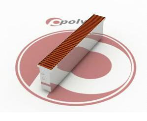 Цокольный конвектор Polvax
