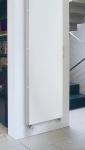 Стальной радиатор Kermi Verteo Profil, нижнее подключение по центру