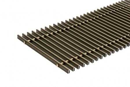 Дюралюминиевые решетки Carrera на глубину конвектора 65 мм
