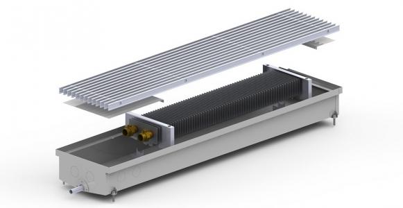 Внутрипольный конвектор Carrera C2-Hydro (для бассейнов)