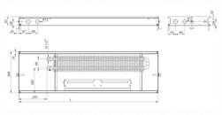 Внутрипольный конвектор Carrera СV Inox 65