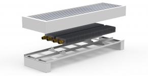 Напольный конвектор Carrera FRH (FR2H)
