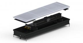 Внутрипольный конвектор Carrera СV Inox с вентилятором