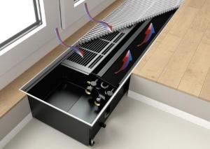 Внутрипольный конвектор Kermi Ascotherm eco KC281