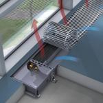 Внутрипольный конвектор Kampmann Katherm NX без вентилятора