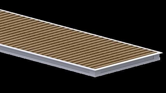 Комплект S (рамка+решетка дерево WR) для Carrera 4S