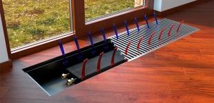 Внутрипольный конвектор Verano тип VK15 (VP)