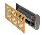Настенный конвектор Minib KZ, установка в стену