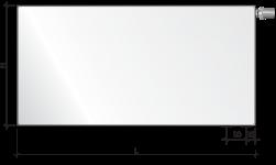 Стальной радиатор Purmo Hygiene, нижнее подключение