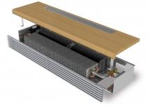 Цокольный конвектор Minib с вентилятором