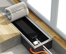 Какие внутрипольные конвекторы выбрать – с вентилятором или без?