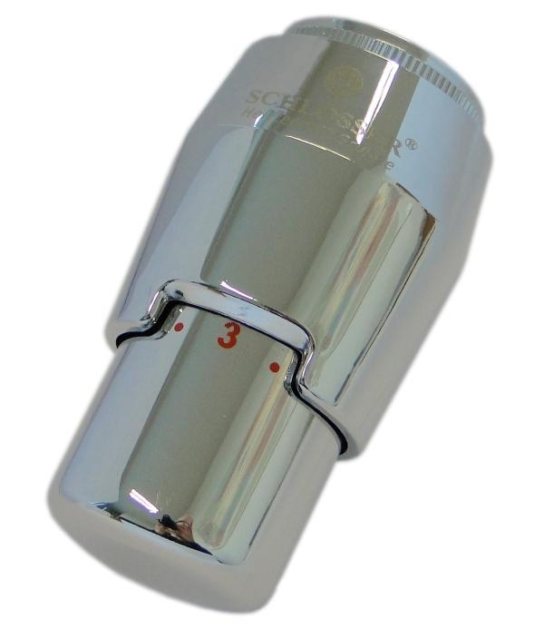 Термостатическая головка Schlosser Brillant Plus (8-30°C)