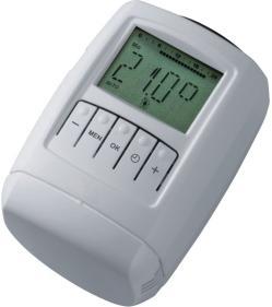 Термостатическая головка программируемая Schlosser SH (8-30°C)