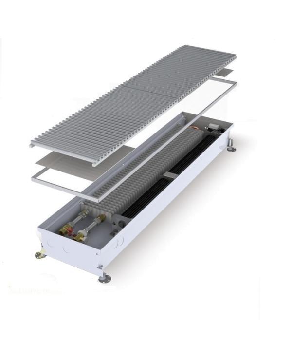 Внутрипольный конвектор MINIB MT с вентилятором