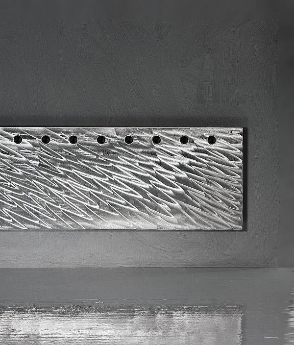 Дизайн радиатор ANTRAX Flat OS [X] INOX