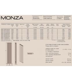 Дизайн радіатор Carisa MONZA H