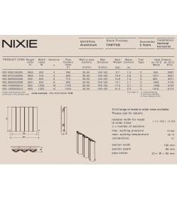 Дизайн радиатор Carisa NIXIE V
