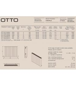 Дизайн радиатор Carisa OTTO V
