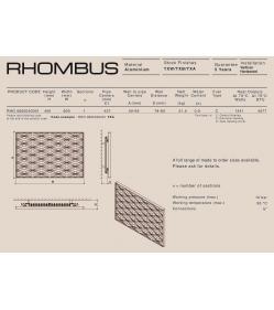 Дизайн радиатор Carisa RHOMBUS