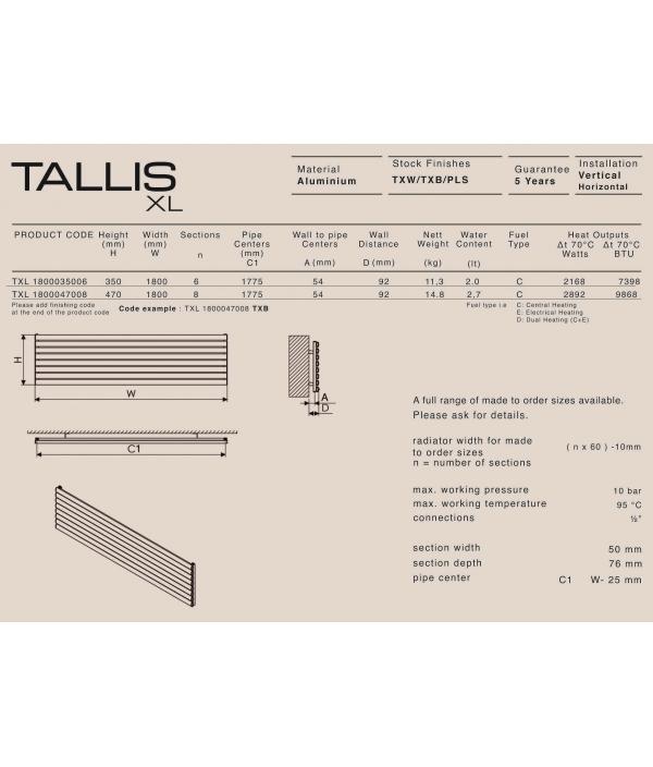 Carisa TALLIS XL