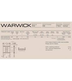 Полотенцесушитель водяной Carisa WARWICK