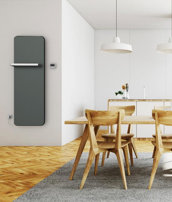 Дизайн радиатор ISAN MELODY E-Slim Round