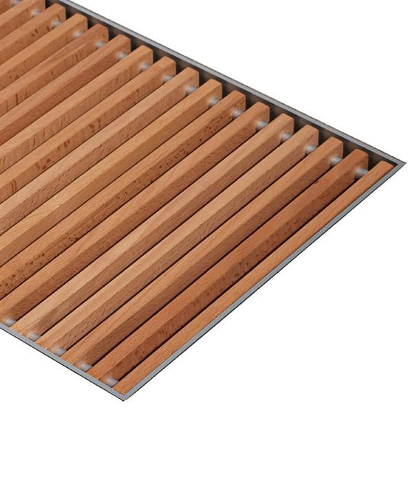 Решетка деревянная JAGA MINI CANAL DESIGNO (DBV)
