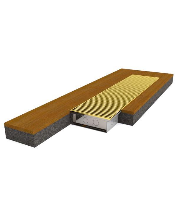 Внутрипольный конвектор Konvektor КПЕ (стальной корпус)