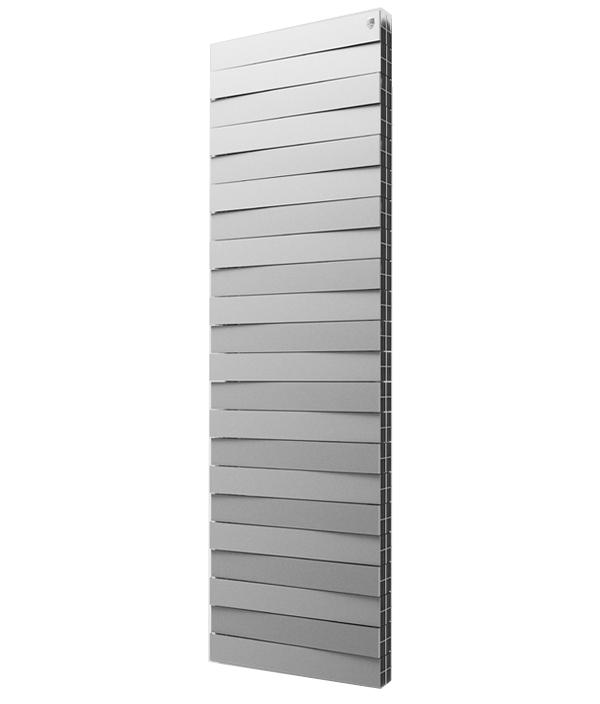 Биметаллический дизайн радиатор ROYAL THERMO Piano Forte TOWER Silver Satin