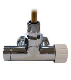 Клапан однотрубний з погружною трубкою Schlosser ХРОМ