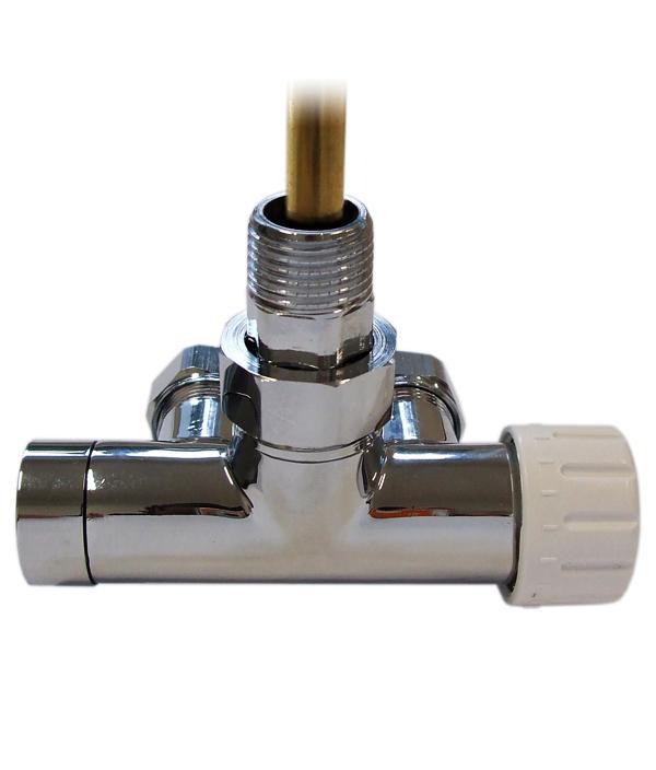 Клапан однотрубный с погружной трубкой Schlosser ХРОМ