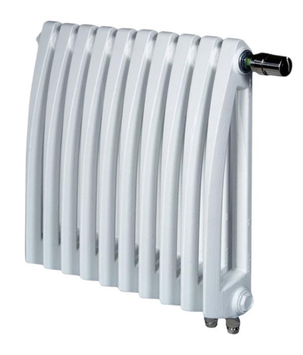 Навесной чугунный ретро радиатор Viadrus STYL