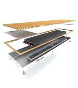 Внутрішньопідлоговий конвектор POLVAX KVM