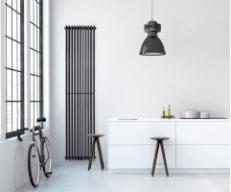 Вертикальные радиаторы в интерьере: фото лучших моделей