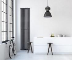 Вертикальні радіатори в інтер'єрі: фото кращих моделей