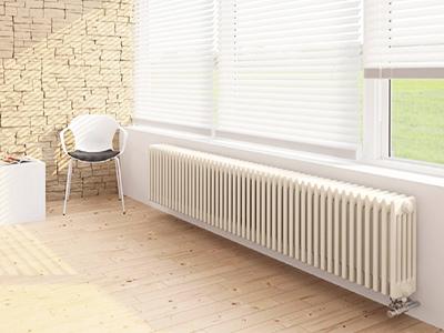 Низкий радиатор отопления