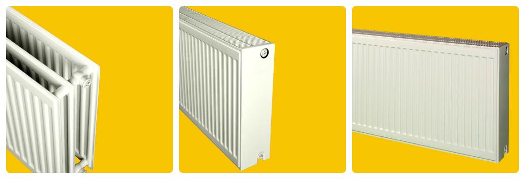 радіатор із трьох панелей