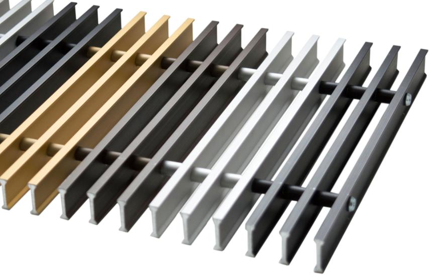 декоративные решетки для внутрипольных конвекторов