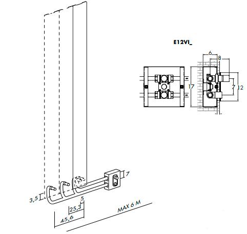 Высота и ширина ANTRAX Loft V