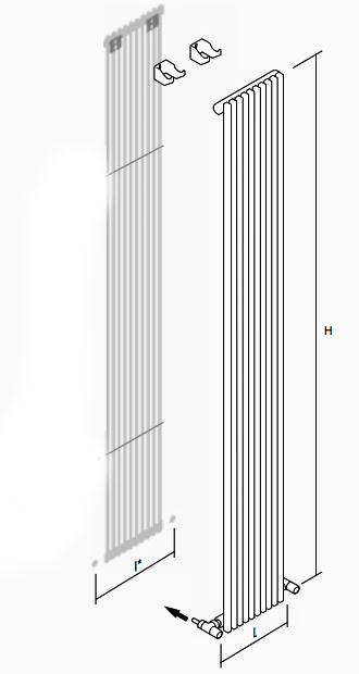 высота и ширина ANTRAX Tif VS