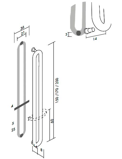 Высота и длина Antrax Tubone V