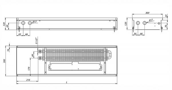 Схема конвектора Carrera SV Black 120